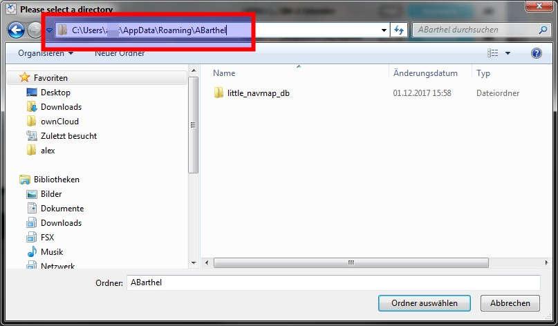 Alex Projects - Little Navmap - Install Navigraph Updates